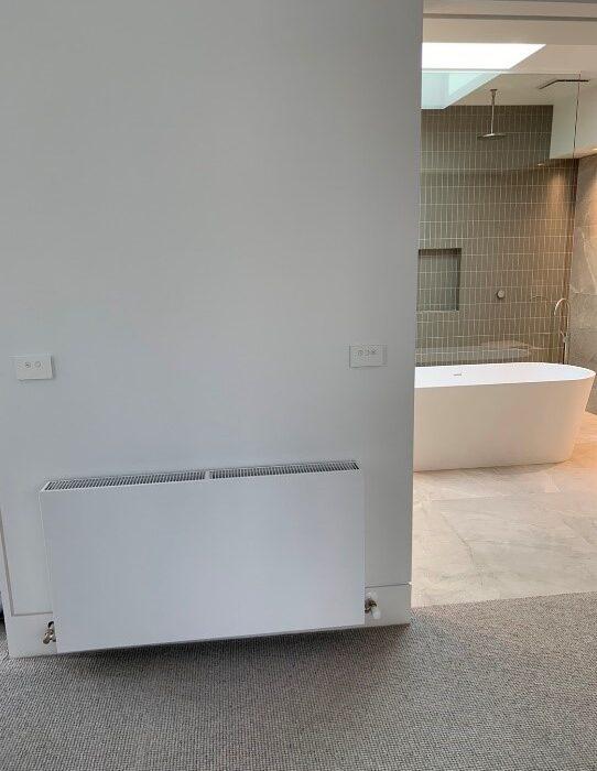 Bathroom towel rails